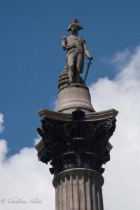 Lord Nelson column london allan