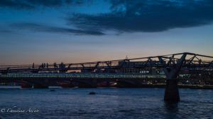 Millenium Bridge twilight allan
