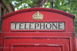 Red phone booth london allan