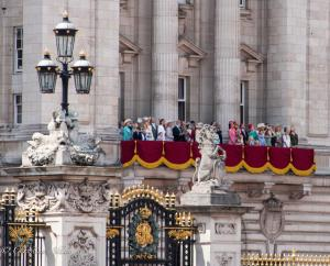 Royal family balcony buckingham palace watching flyby Trooping the Colour birthday parade London Allan DSC_2714