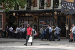 The Sherlock Holmes Pub Thai Square Spa London Allan