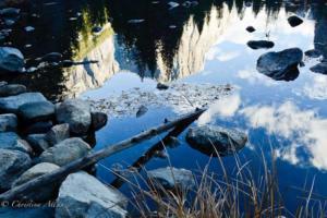 Reflection of El Capitan in Yosemite