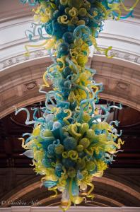 Victoria and Albert V & A Rotunda Chandelier London Allan