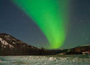 Northern Lights/Aurora Borealis at Chena Springs, Alaska