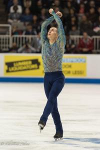 Adam Rippon Arms Crossed Prudential U.S. National Figure Skating Championships San Jose Men Allan DSC 8245