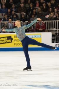Adam Rippon Bird Arms Prudential U.S. National Figure Skating Championships San Jose Men Allan DSC 8212