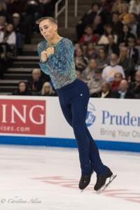Adam Rippon Jumping Prudential U.S. National Figure Skating Championships San Jose Men Allan DSC 8269