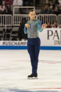 Adam Rippon Opening Hand Prudential U.S. National Figure Skating Championships San Jose Men Allan DSC 8203
