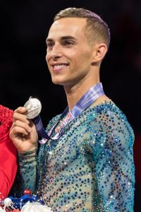 Adam Rippon Pewter Medal Prudential U.S. National Figure Skating Championships San Jose Men Allan DSC 8468