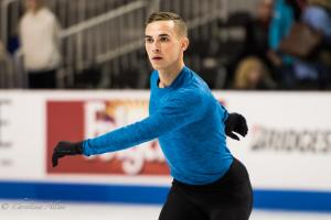 Adam Rippon Practice Outstretched Prudential U.S. National Figure Skating Championships San Jose Men Allan DSC 6385-Edit