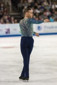 Adam Rippon Preparing for Jump Prudential U.S. National Figure Skating Championships San Jose Men Allan DSC 8214