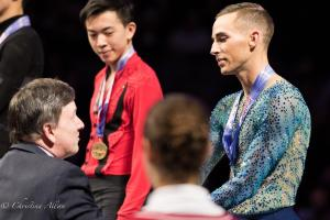Adam Rippon Shaking Hand  Award Prudential U.S. National Figure Skating Championships San Jose Men Allan DSC 8429