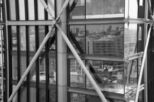 BW Skyscraper urban reflections london allan DSC 2915