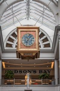 Bay Centre Clock victoria b.c. canada allan 0875