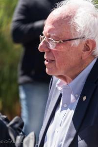 Bernie Sanders Senator Vermont independent medicare for all san francisco rally cna nurses 92217 allan DSC 5092
