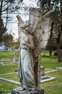 Charles Edward Poole angel monumemt ross bay cemetery victoria b.c. canada allan 0936