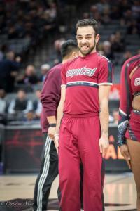Cheer guy Sign Equality Night Sacramento Kings Allan DSC 8923