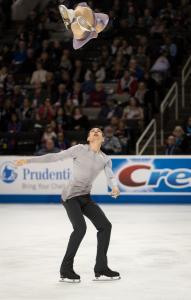 Christopher Alexa Scimeca Knierim Pairs US National Figure Skating Championships San Jose Throw Allan DSC 7384