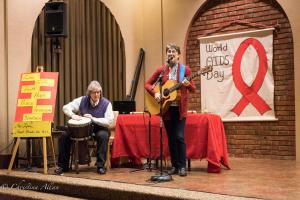 Coleen Chandler Tandy Bowman World AIDS Day First UMC Sacramento DSC 5667