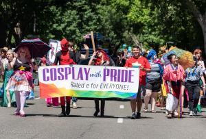 Cosplay banner 6102018 gay pride sacramento allan