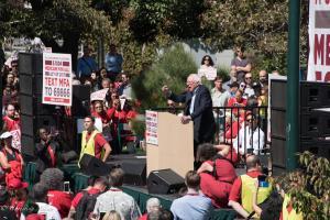Bernie Sanders at Medicare for all Nurses Rally in San Francisco