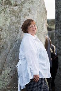 De portrait stonehenge summer solstice  england allan