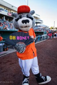 Dinger oh honey fan 6292018 River Cats Equality Night West Sacramento Allan-0865