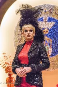 Drag performer Relent Lace World AIDS Day First UMC Sacramento DSC 5675