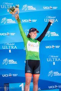 Emma White Team USA visit california green jersey winner amgen tour sacramento allan DSC 9750
