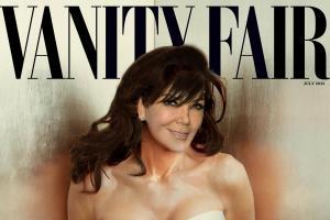 Krislyn Kris Jenner Kaitlyn mashup vanity fair cover celebrities Allan