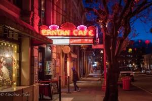Fantan Cafe night chinatown victoria b.c. canada allan 1144