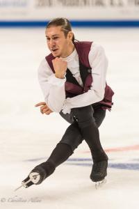 Jason Brown Sitting Men's SP Prudential U.S. National Figure Skating Championships San Jose Allan DSC 7249