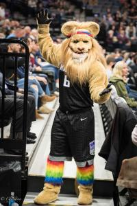 Mascot Equality Night Sacramento Kings Allan DSC 8832