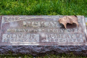 McCay Grave Marker Ross Bay Cemetery victoria b.c. canada allan1016