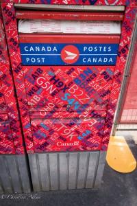 Post box victoria b.c. canada allan 0829