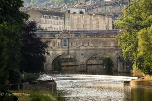 Pulteney Bridge and Weir Bath England Allan DSC 3083