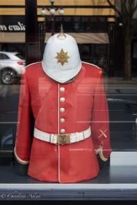 Red British uniform victoria b.c. canada allan 0825