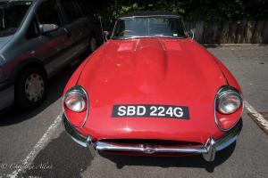 Red sports car Bath England Allan DSC 3130
