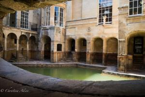 Roman Baths Courtyard Pool Bath England Allan DSC 3158