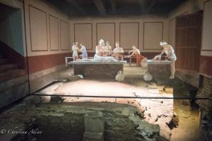 Roman East Baths Projections People Bath England Allan DSC 3156