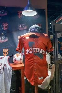 Sactown giants orange jersey window raley field west sacramento allan DSC 1258