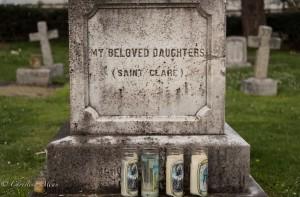 Saint Clare monument ross bay cemetery victoria b.c. canada allan 0947