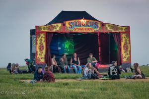 Sanger's stage show stonehenge summer solstice  england allan