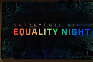 Sign Equality Night Sacramento Kings Allan DSC 8760