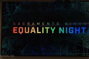 Sign Equality Night Sacramento Kings Allan DSC 8760