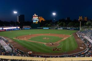 Stadium view night  6292018 River Cats Equality Night West Sacramento Allan-1254