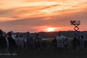 Sunset stonehenge summer solstice  england allan