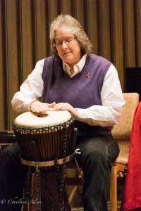 Tandy Bowman Drummer World AIDS Day First UMC Sacramento DSC 5670
