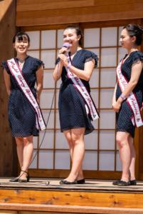Three cherry blossom princesses speaking wakamatsu allan 4696