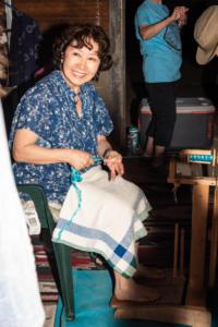 Woman at loom wakamatsu allan 4713